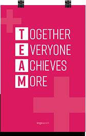 תמונת השראה למשרד Together Everyone Achieves More