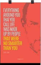 תמונת השראה למשרד - No Smarter Than You
