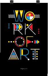 lingospark תמונה למשרד work of art